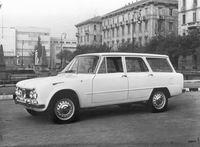 1962 Alfa Romeo Giulia 1600 TI Promiscua  Colli