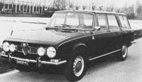1968 Alfa Romeo of 1750 Giardinetta Veloce  Pavesi